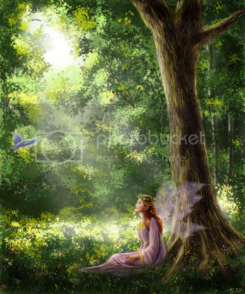 Fairy in the Garden Pictures, Images and Photos