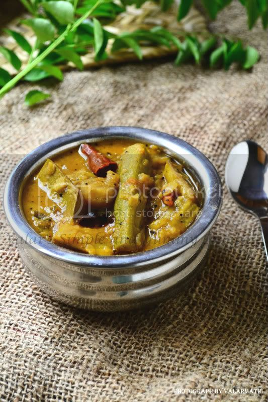 RawMango &amp; Drumstick Sambar